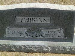 Lloyd Wallaer Perk Perkins