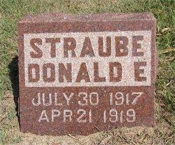 Donald Ellsworth Straube