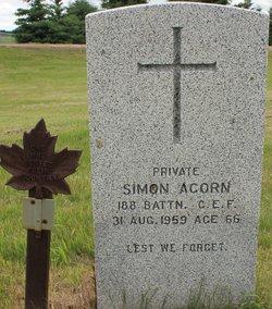 Pvt Simon Acorn