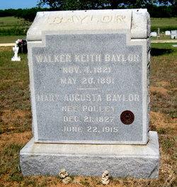 Mary Augusta <i>Polley</i> Baylor