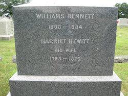 Harriet <i>Hewitt</i> Bennett