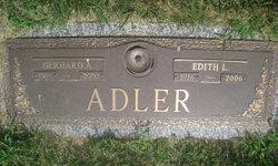 Edith Louise <i>Snouffer</i> Adler