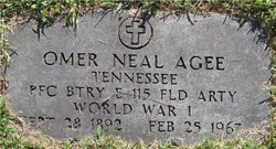 Omer Neal Agee