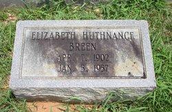 Eleanor Elizabeth <i>Huthnance</i> Breen