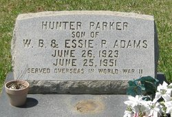 Hunter Parker Adams
