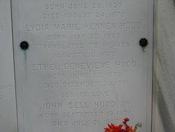 Lydia Marie Hennen Hood