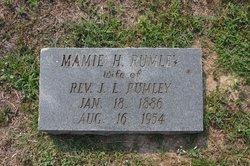 Mary Louise <i>Haskett</i> Rumley