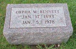 Orpha <i>Millikin</i> Bennett