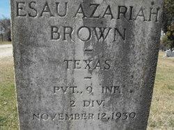 Esau Azariah Brown