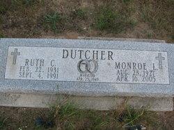 Ruth <i>Monroe</i> Dutcher