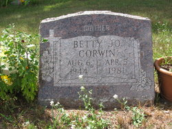 Betty Jo <i>Bongard</i> Corwin