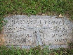 Margaret Agnes Peggy <i>Luster</i> Brandt
