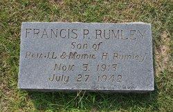 Francis P Rumley