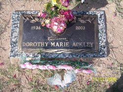 Dorothy Marie Ackley