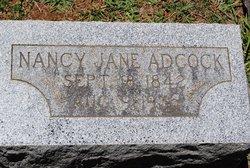 Nancy Jane <i>Crowder</i> Adcock