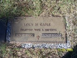 Lola M. Gable