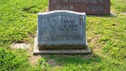 Jane Ellen Evans