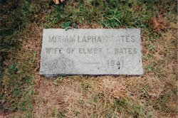 Miriam <i>Lapham</i> Bates