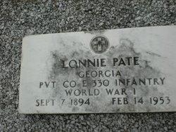 Lonnie Lee Pate