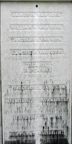 Margareta Pearle <i>Van Horn</i> Davis