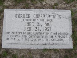 Warren Chester King
