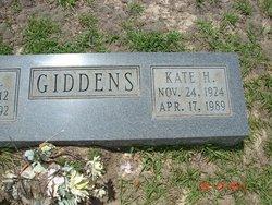 Kate H. Giddens