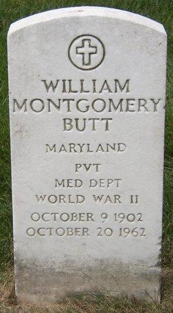 William Montgomery Butt