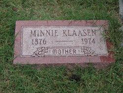 Mina Minnie <i>Haan</i> Klaasen