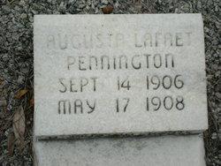Augusta Lafaet Pennington
