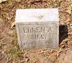 Ellen Augusta <i>Ostrander</i> Sims