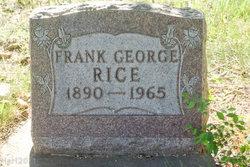Frank George Rice