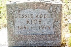 Dessie Adele <i>Sage</i> Rice