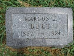 Capt Marcus Lindsey Mark Belt, Sr