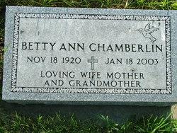 Betty Ann <i>Green</i> Chamberlin