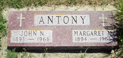 Margaret Mary <i>Betzen</i> Antony
