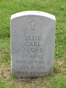 Pvt Jesse Carl Aughe