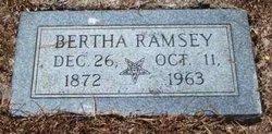 Bertha <i>Schmidt</i> Ramsey