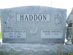 Kenneth Gerald Haddon
