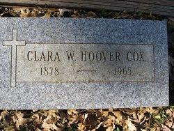 Clara W <i>Hoover</i> Cox