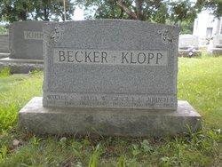 Grace E A <i>Berger</i> Becker