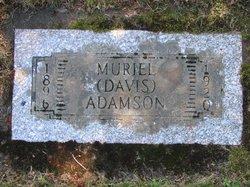 Muriel Agnes <i>Davis</i> Adamson
