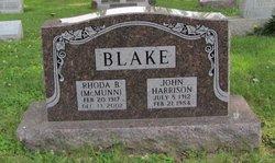 Rhoda B <i>McMunn</i> Blake