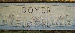 Elsie P Boyer