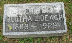 Bertha L Beach
