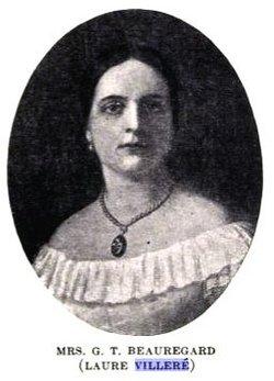 Marie Antoinette Laure <i>Villere</i> Beauregard