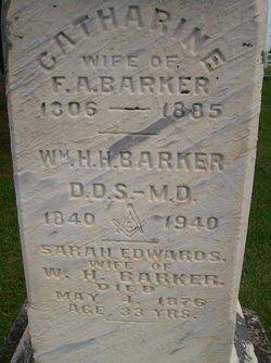 Sarah <i>Edwards</i> Barker