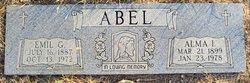 Alma Irene <i>Bradshaw</i> Abel
