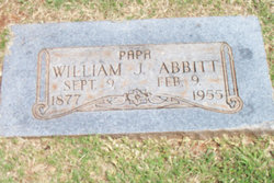William Jasper Will Abbitt