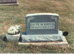 Hattie Mae <i>Criley</i> Amidon