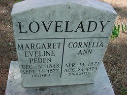 Margaret Eveline <i>Peden</i> Lovelady